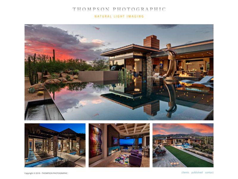 Thompson Photographic – Website