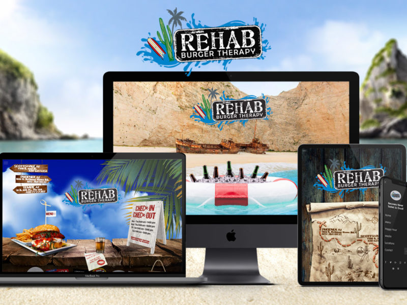 Rehab Burger Therapy Website